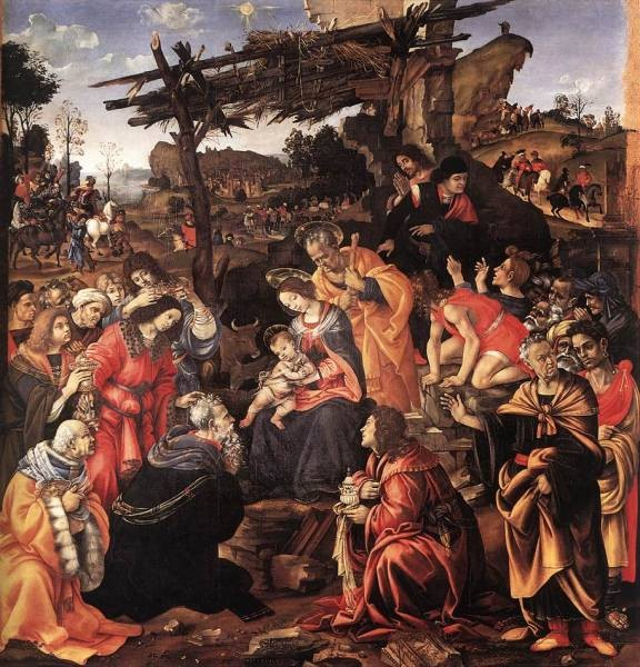 Adoration of the Magi 1496